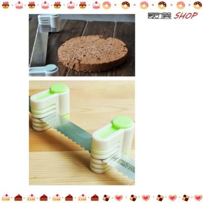 料理利器!一式兩份 分層切割器 切片器 (2入) 食品級ABS 切蛋糕 平整 分片器【K008】 (3折)