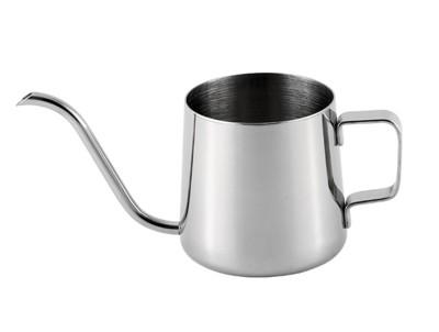 【嚴選SHOP】304不鏽鋼 手沖咖啡壺 4mm 細口壺 手沖壺 250ML/350ML 加厚 手沖 (5折)