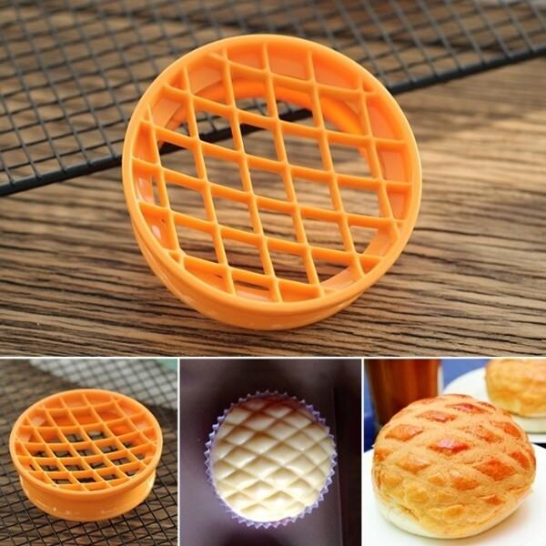 sn4181三能 台灣製 波羅印 菠蘿麵包印模 菠蘿印 波羅包壓模 布丁甜點壓模 波羅麵包模