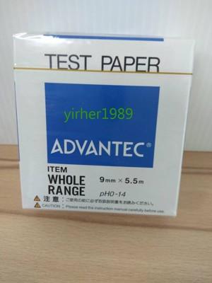 【快樂動手做】頤和~ADVANTEC PH試紙 PH0~14 (7.1折)