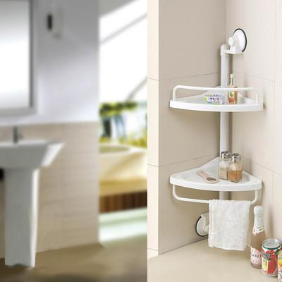 超實用雙層轉角廚浴收納置物架 (5折)