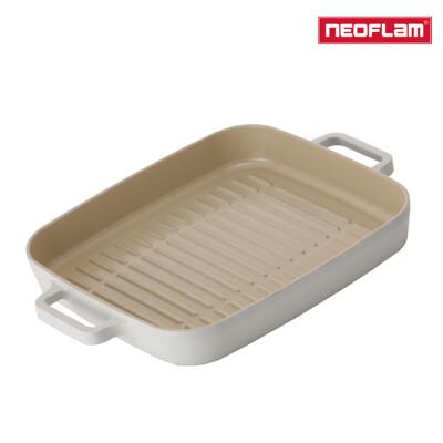 NEOFLAM FIKA系列 28cm 鑄造不沾方形烤盤(IH、電磁爐適用) (9.6折)