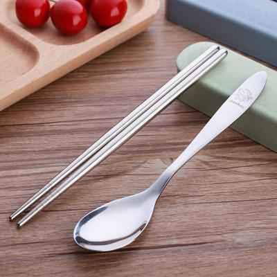 防霉304不鏽鋼便攜餐具組 (1.8折)