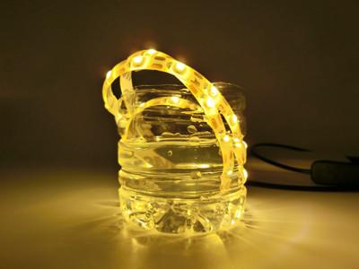 超方便2合一黏貼式防水LED燈條 (2.3折)