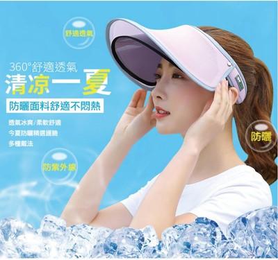 360度防曬可調式雙層遮陽帽 (3.1折)