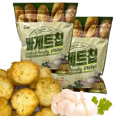 韓國 CW大蒜麵包餅乾 大蒜麵包 400公克裝 現貨提供中 (6.7折)