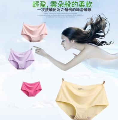 加大尺碼零觸感冰絲內褲 (3.4折)