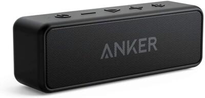 現貨出 Anker soundcore 2 喇叭 超長續航  12W 重低音 可雙喇叭串聯 IPX7 (8.2折)