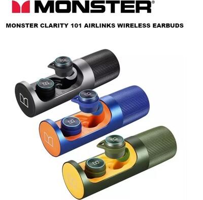 免運現貨出 魔聲正品TWS Monster Clarity101 Airlinks 原廠平輸品 (7折)