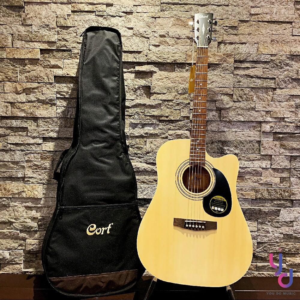 贈千元配件 cort ad810 c 41吋 d桶身 民謠 木 吉他 自彈自唱 適用 入門 大品牌