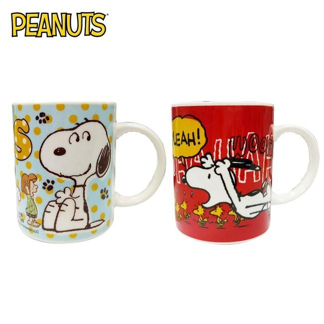 史努比 陶瓷 馬克杯 300ml 咖啡杯 snoopy peanuts 853278 853285