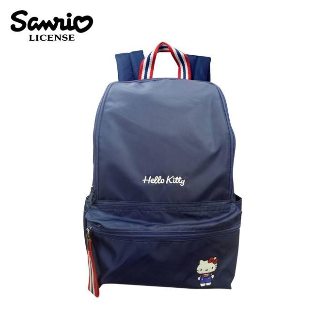 凱蒂貓 尼龍 後背包 背包 書包 hello kitty 三麗鷗 sanrio133073