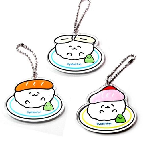 壓克力 吊飾 擺飾 脫力系壽司 壽司 日本製 日本正版 611413 611420 611437