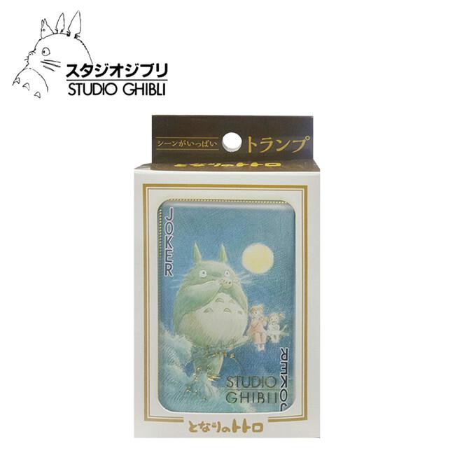 宮崎駿 龍貓 壓克力盒 撲克牌 日本製 豆豆龍 吉卜力 ensky 日本正版181956
