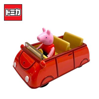 TOMICA 騎乘系列 佩佩豬 x 家庭車 玩具車 Peppa Pig 粉紅豬小妹 【131267】 (4.3折)