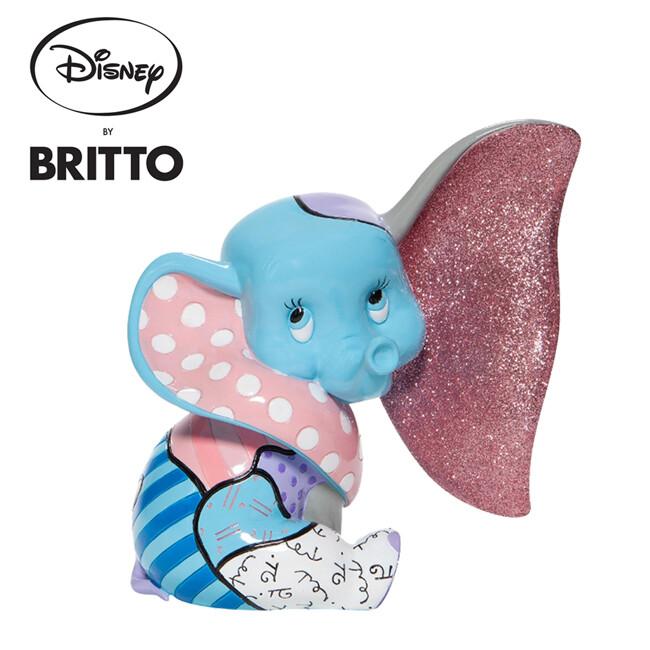 enesco britto 小飛象 嬰兒塑像 公仔 精品雕塑 塑像 dumbo 迪士尼 270422