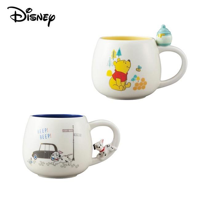 101忠狗 陶瓷 造型馬克杯 300ml 咖啡杯 迪士尼 disney 日本正版246770