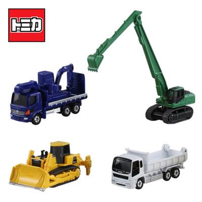 TOMICA 建設車輛組5 推土機 挖土機 砂石車 工程車 玩具車 多美小汽車 856566 (4.8折)