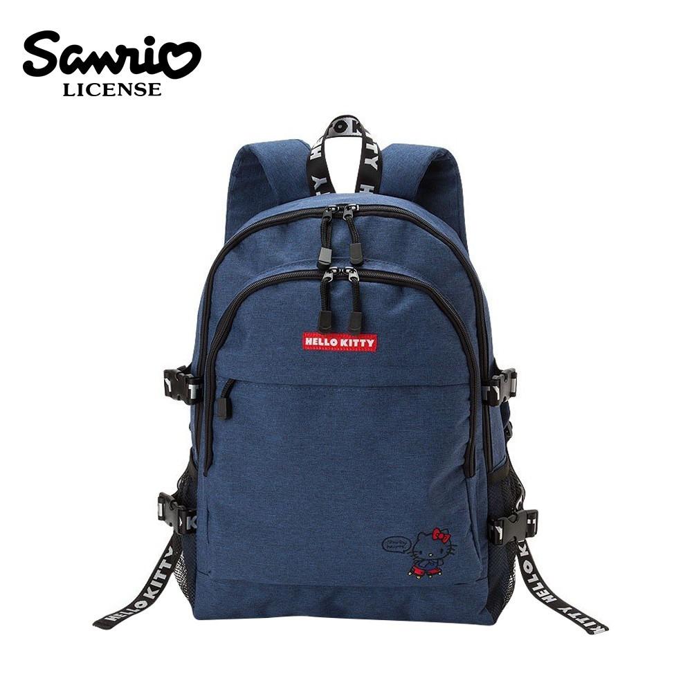 凱蒂貓 織帶後背包 背包 後背包 書包 hello kitty 三麗鷗 sanrio809907