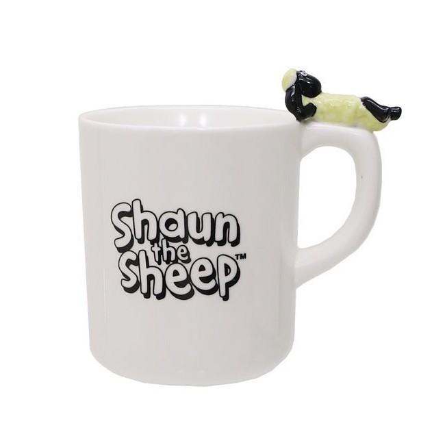 笑笑羊 陶瓷 馬克杯 270ml 咖啡杯 尚恩 日本正版043372