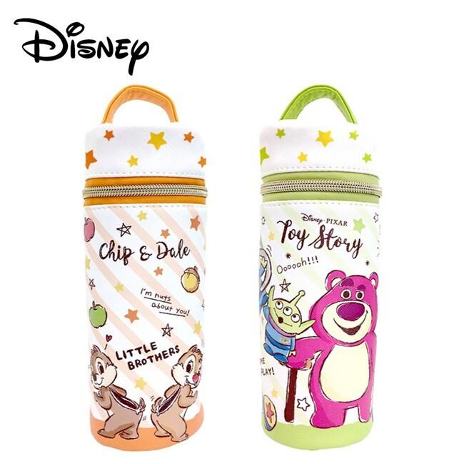 迪士尼 圓筒筆袋 鉛筆盒 筆袋 奇奇蒂蒂 玩具總動員 disney 101535 101542