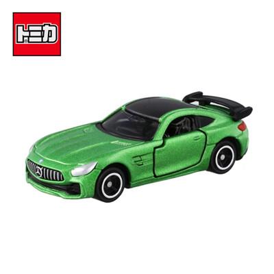 TOMICA NO.7 賓士 BENZ AMG GT-R 跑車 玩具車 多美小汽車 879602 (4.5折)