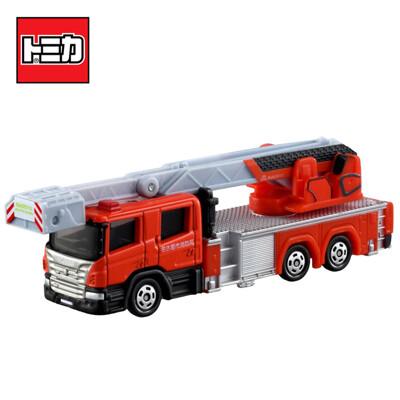 TOMICA NO.145 名古屋消防車 名古屋市消防局 消防車 雲梯車 玩具車 長盒 160908 (4.4折)