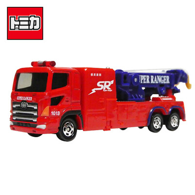 TOMICA NO.132 橫濱消防局工作車 特別高度救助部隊 玩具車 長盒 981695 (4.9折)