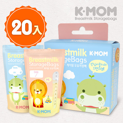 【MOTHER-K】站立式抗菌母乳袋 (20入) (5.7折)