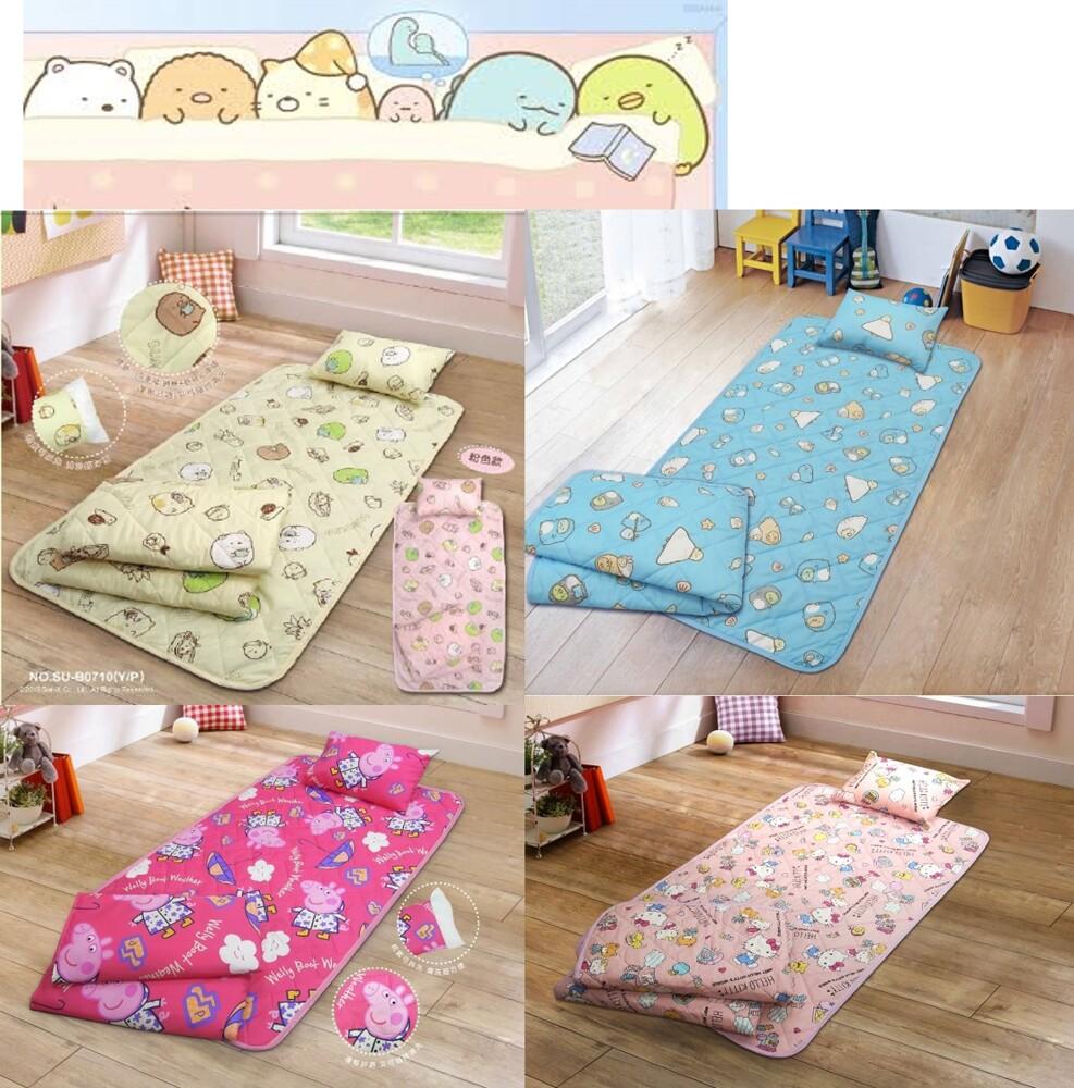 正版授權角落小夥伴三件式睡袋-台灣製