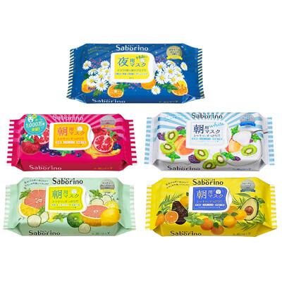 日本 BCL SABORINO 早安面膜(5款任選) (6折)