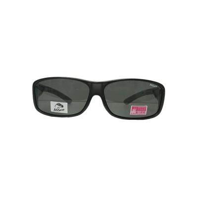 2017新款-近視族包覆 套鏡偏光太陽眼鏡Polarized寶麗來偏光(9407灰) (1折)