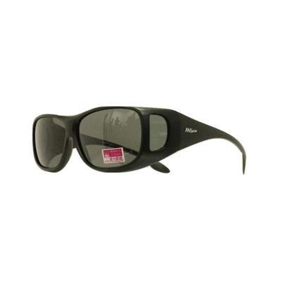 2017新款-套鏡偏光太陽眼鏡(9415霧黑) (1折)