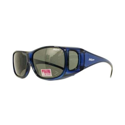 2017新款-套鏡偏光太陽眼鏡(9415藍) (1折)
