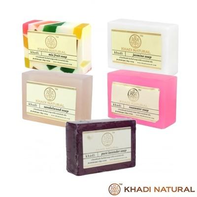 【印度KHADI】手工精油香皂125克 (7.1折)
