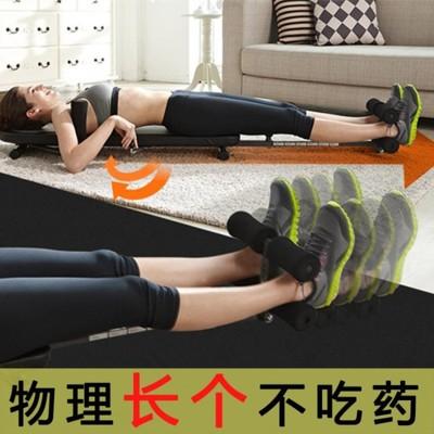 倒立機韓國seanlee增高長高神器拉腿拉伸器家用頸椎腰椎間盤牽引倒立機 - 雙色背板帶普通頸椎牽引 (10折)