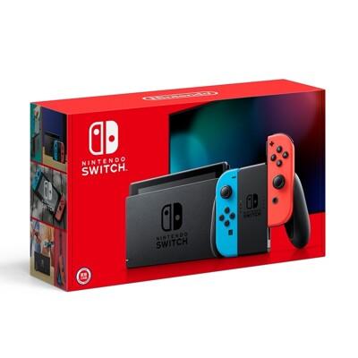 《限量組合》Nintendo Switch 電續加強藍紅主機 + 瑪利歐選一 + 大禮包 (9.4折)