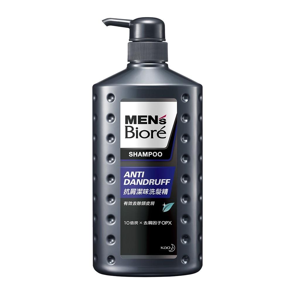 men's biore 男性專用抗屑潔味洗髮精 750mlx3入組官方直營