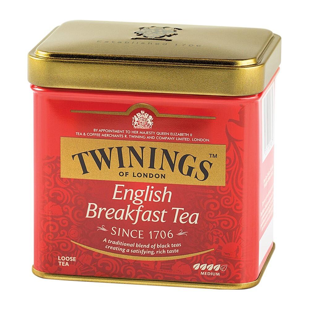 唐寧茶 twinings 英倫早餐茶(100g)官方直營