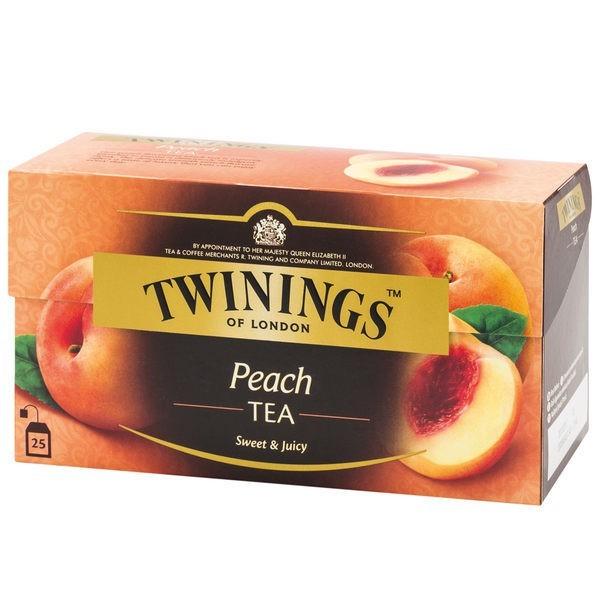 唐寧茶 twinings 香甜蜜桃茶(2gx25茶包)x3入組官方直營