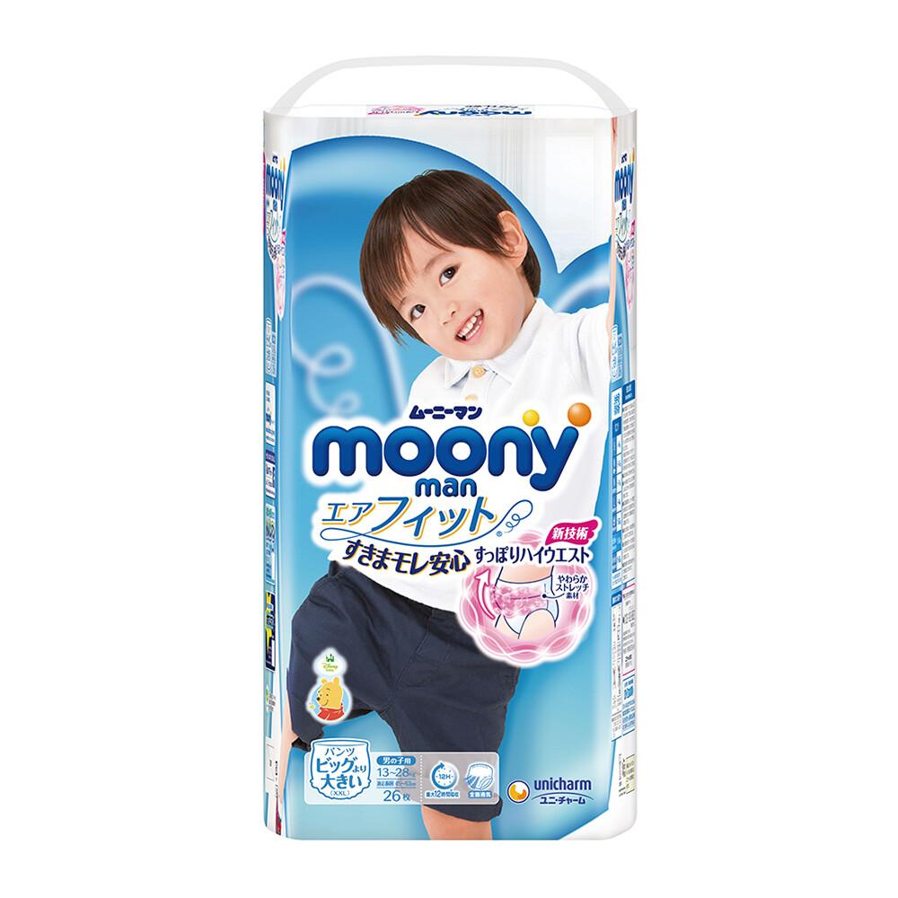 滿意寶寶 日本頂級超薄紙尿褲-男用(xxl)(26片/包)x3/箱購