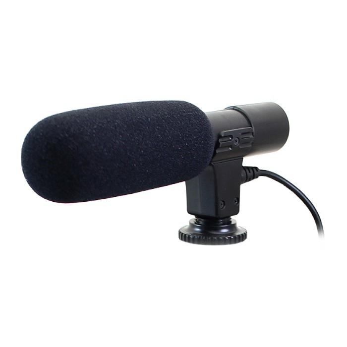 立體聲麥克風 外接式收音麥克風 適用 單眼相機 攝影機 手機直播錄音麥克風 指向性麥克風 - mic