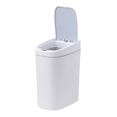 浴廁智能感應窄邊垃圾桶 自動感應垃圾桶 智能感應垃圾桶 防水智能垃圾桶 自動垃圾桶