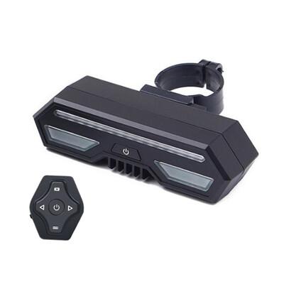 全方位無線遙控自行車LED警示燈 自行車轉向燈 單車警示燈 LED尾燈 腳踏車方向燈 (5.3折)