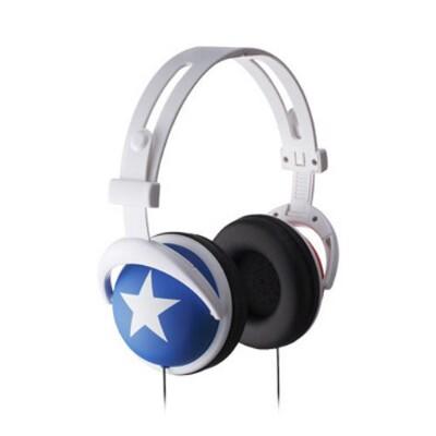 【超值優惠】大星星耳罩式耳機 高音質重低音 頭戴式耳機 全罩式耳機 適用 手機耳機 電腦耳機 (3.7折)