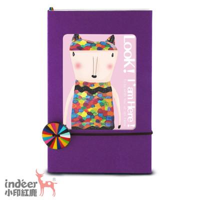 indeer小印紅鹿 法式質感相框封面 手感輕手札 巴黎小日光-多變相框 (共13色) (7.4折)