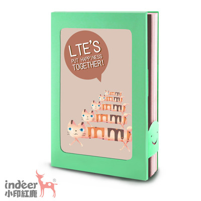 indeer小印紅鹿|專利相框小筆記|旅行小相框-旅行相框 (共9色) (5.6折)