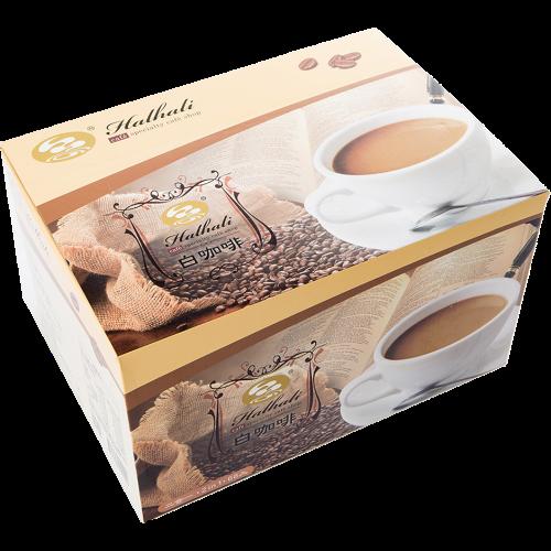 哈拉里咖啡 2in1白咖啡 量販盒