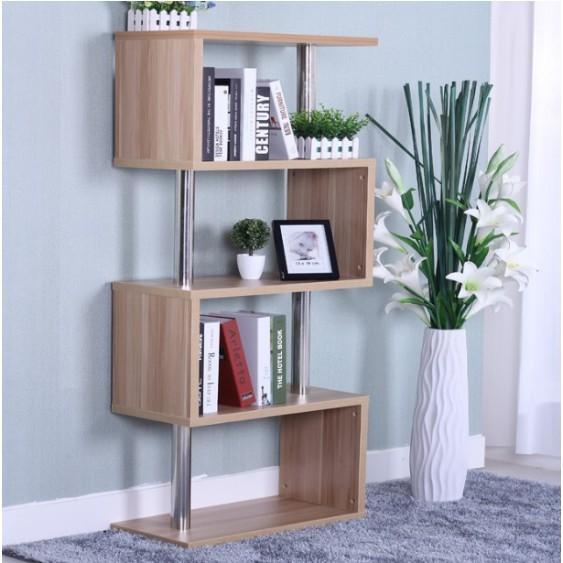 一件免運簡易書架置物架書櫃自由組合兒童書櫃落地書架創意收納櫃子展示架