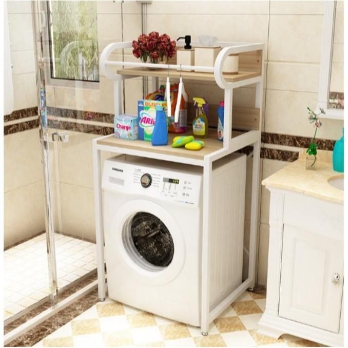 一件免運 洗衣機置物架 滾筒洗衣機架子 落地陽台儲物架 衛生間架子 浴室收納架
